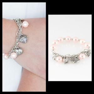 More Amour Pink Stretch Bracelet